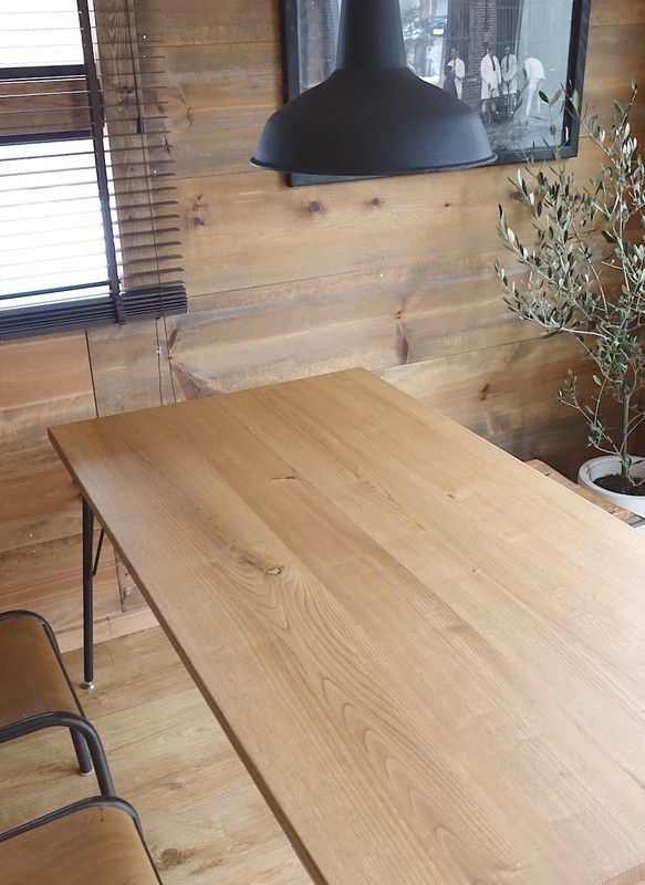 Rustic Oak12 6国産無垢材 ダイニングテーブル テーブル ダイニング