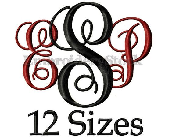Hey, I found this really awesome Etsy listing at https://www.etsy.com/listing/216798890/circle-monogram-font-monogram-machine
