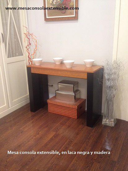 20 best mesa consola extensible images on pinterest for Mesa consola extensible