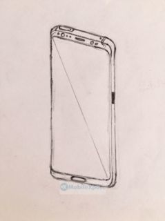 Samsung Galaxy Note 8 latest sketches got leaked again.
