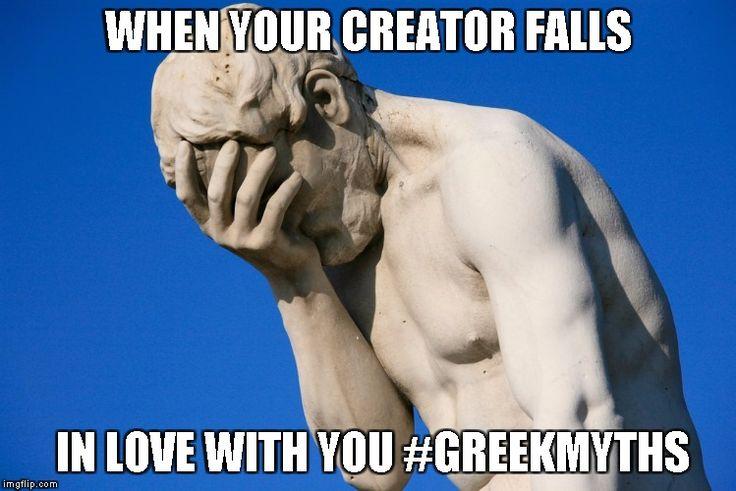 Embarrassed statue Meme Generator - Imgflip