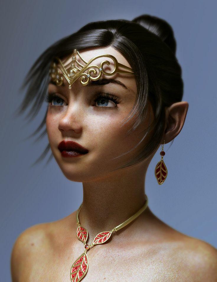 ArtStation - elf girl, Hood Saladine