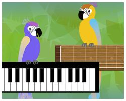 Music Training Games: A host of music games- you can play the first 3 levels of each of them for FREE.  Some will be great training for Let's Play Music class skills!