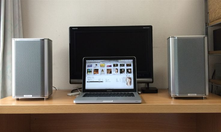 Mac Pro, Piega 1.2 speakers, Primare 1.22 amp and Fostex HP-A8 DAC.