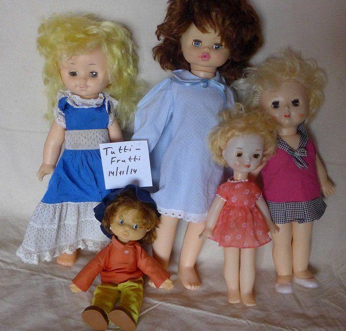 Куклы СССР советские