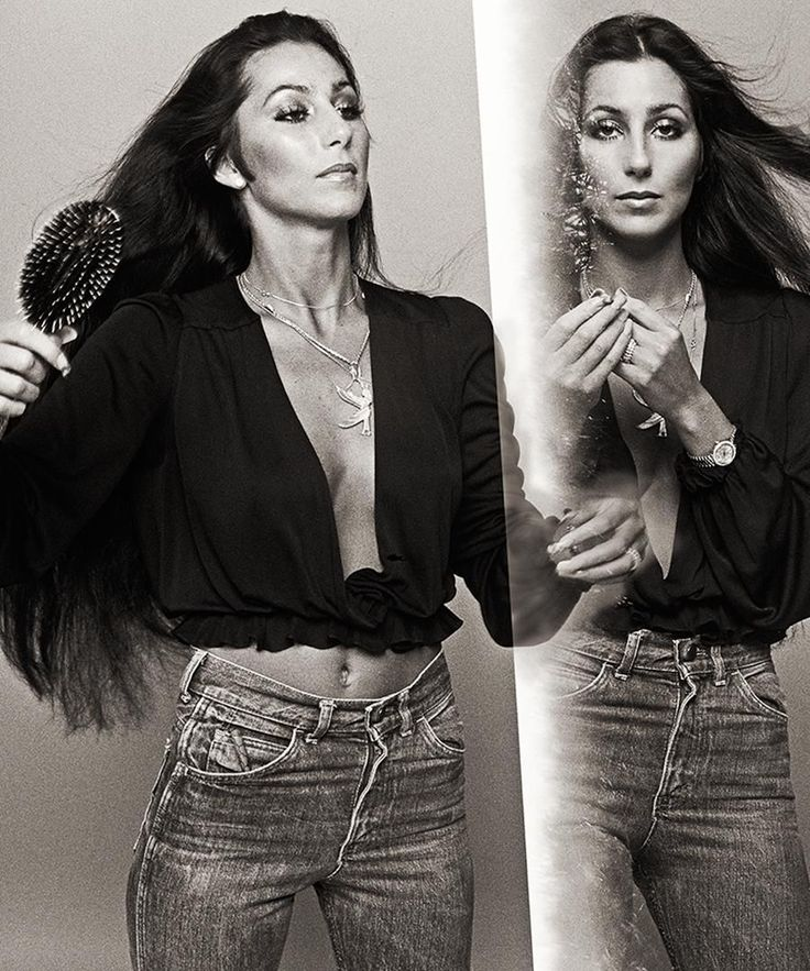 How gorgeous was Cher?!! Total hair goals