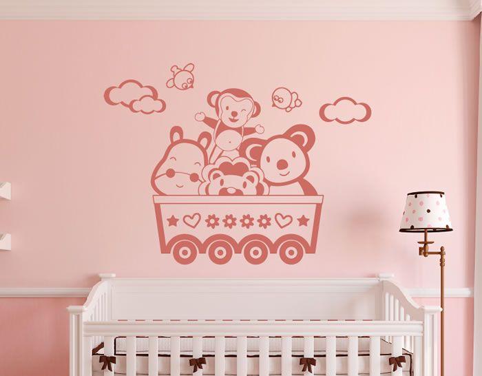 Vinilo infantil para decorar el dormitorio del beb for Vinilos cuartos bebe