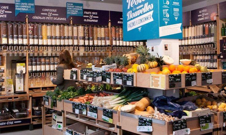 Scandinavia's first zero packaging, organic supermarket is scheduled to open in Copenhagen this summer.