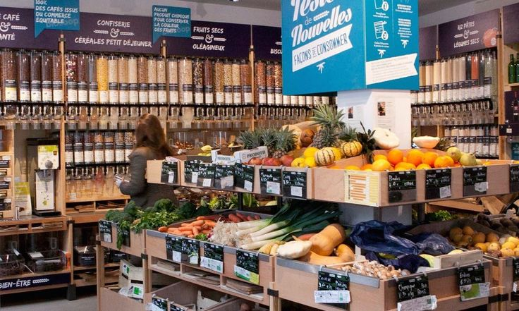 Scandinavia's first zero packaging, organic supermarket is scheduled to open in Copenhagen this summer.