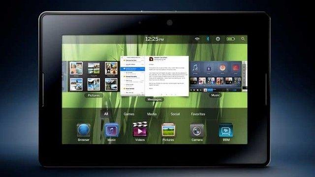 İş Dünyasının Efsane Markası BlackBerry Androidli Tablet Çıkarabilir