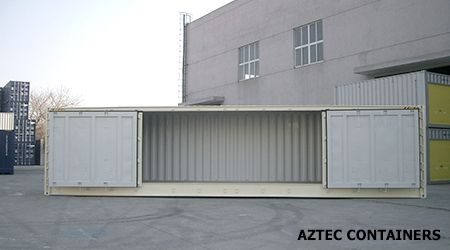 Aztec shipping containers