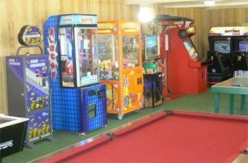 Family fun games room
