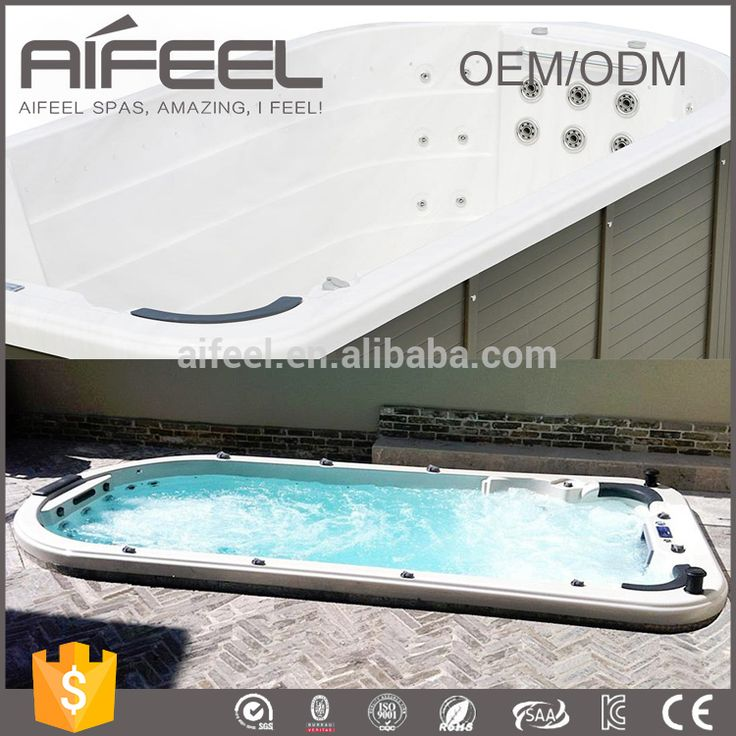 Factory price europe style hot sale luxury Balboa system used swimming spa with jet surfing#used swim spa#swim spa