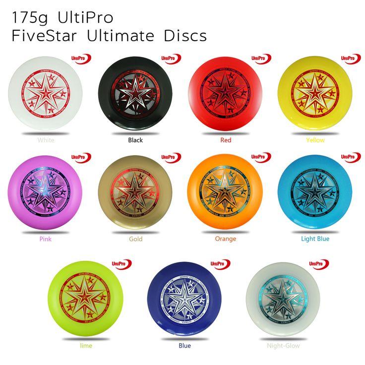 WFDF Phê Duyệt Miễn Phí Vận Vận Chuyển 175 gam Professional Ultimate Đĩa UltiPro Frisbee Fivestar