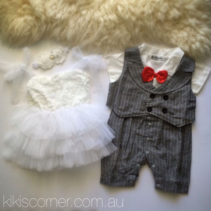 Rosette butter cake and formal romper