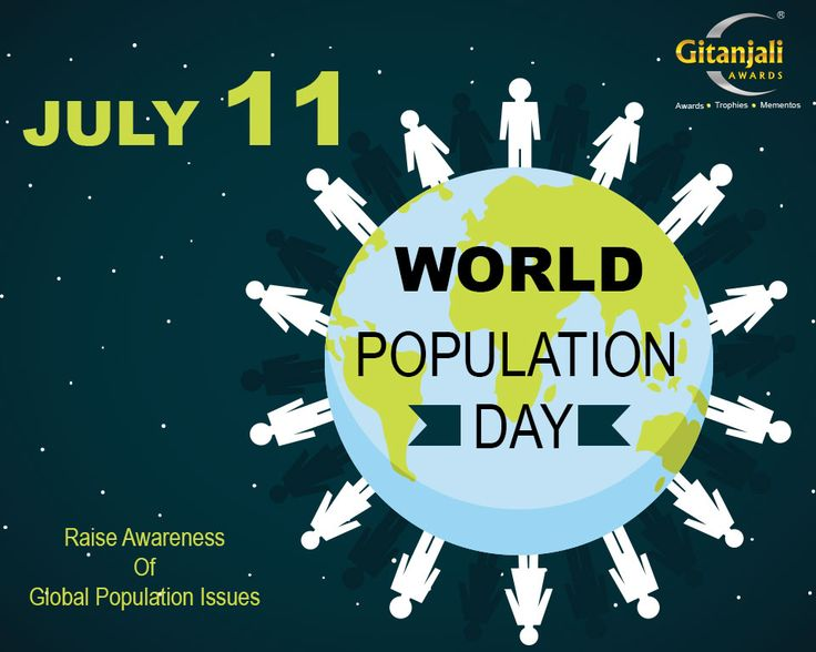 Today is #WorldPopulationDay. A day to raise awareness of global population issues.