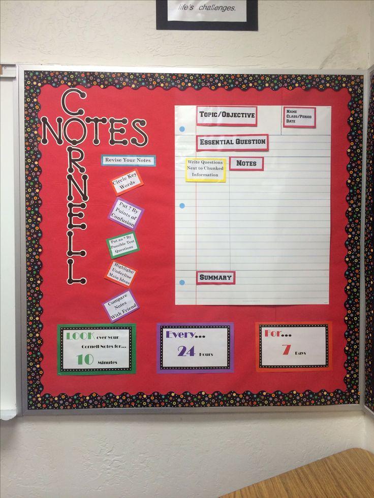 AVID Cornell Notes Bulletin Board