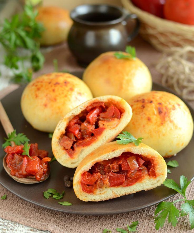 Bułeczki o smaku węgierskiego leczo