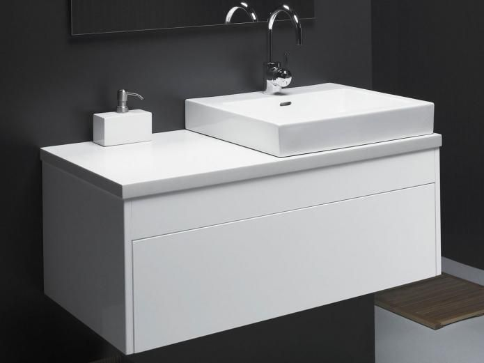 The 'Acqua' from Rifco is the perfect vanity to complement your bathroom. Its simplicity of design combined with sophisticated storage solutions make the Acqua vanity a beautiful and practical furniture piece for your ultra-chic modern bathroom.