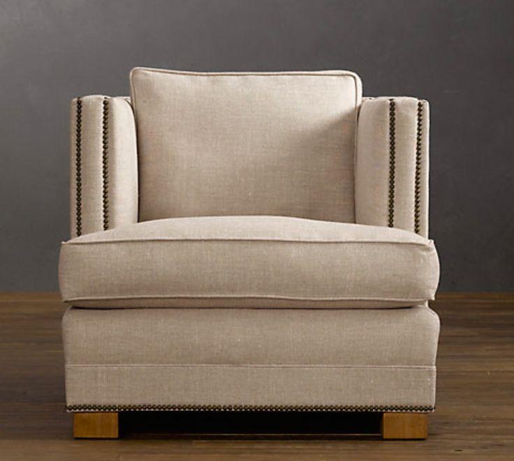 Studded armchair - Coco
