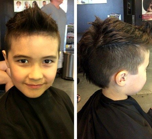 20 Awesome and Edgy Mohawks for Kids in 2019 | boys straight