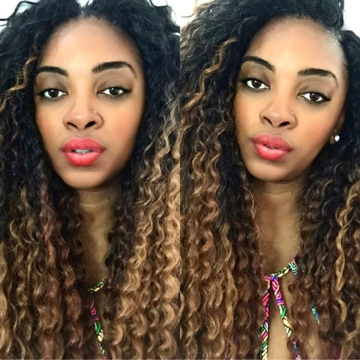 Crochet Braids Middle Part : ... Crochet Braids on Pinterest Twists, Marley hair and Crochet braids