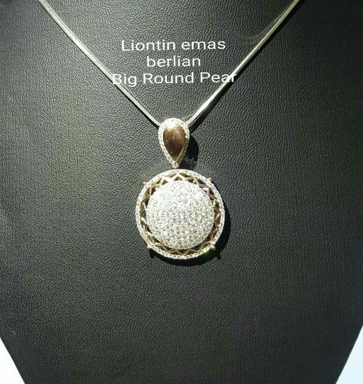 New Arrival🗼. Liontin Emas Berlian Big Round Pear Style💍💎.   🏪Toko Perhiasan Emas Berlian-Ammad 📲+6282113309088/5C50359F Cp.Dewi👩.  https://m.facebook.com/home.php  #investasi #diomond #gold #beauty #fashion #elegant #musthave #tokoperhiasanemasberlian