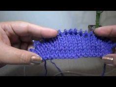 Vueltas Acortadas (Short Rows) vueltas cortas Estilo Aleman - YouTube