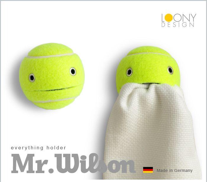ウィルソン wilson テニスボール ボール テニス ホルダー マルチホルダー タオルホルダー ペンホルダー 小物 吸盤 吸盤付き 吸盤付 ドイツ ジャーマン…
