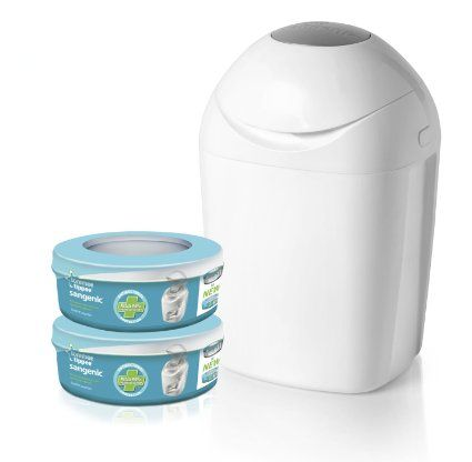 TOMMEE TIPPEE SANGENIC - Poubelle à couches + 2 Recharges !!!