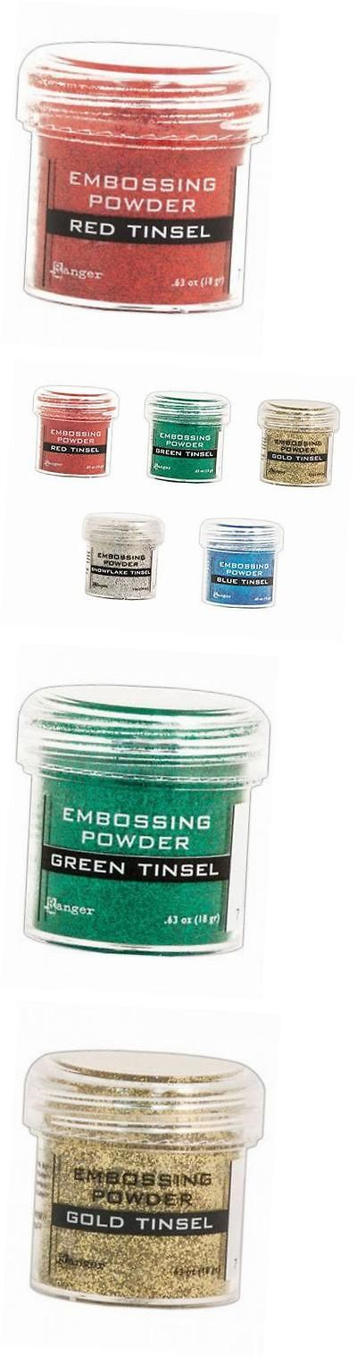 how to use glitter embossing powder