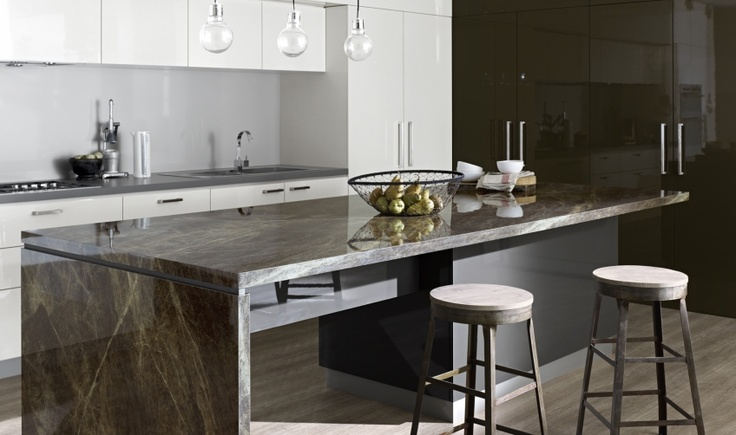 My Dream Kitchen : Inspiration Gallery : Classic Gloss Island
