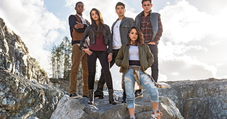 First 'Power Rangers' Movie Photo Unites the Cast -- Get your first look at Becky G, RJ Cyler, Naomi Scott, Ludi Lin, and Dacre Montgomery as the 'Power Rangers', coming to theaters in 2017. -- http://movieweb.com/power-rangers-movie-photo-cast/