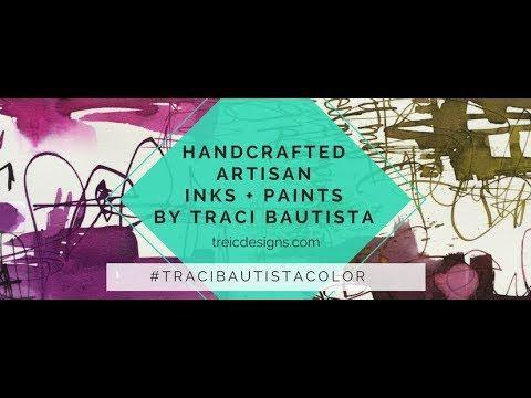 Awesome Vidéo, Peindre Avec Les Encres