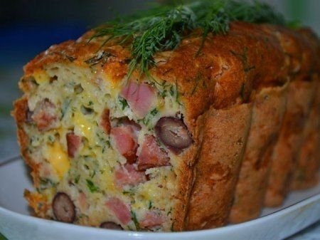 Всё о еде...: Мясной кекс