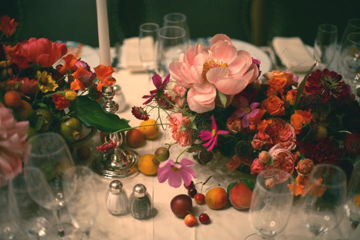 Flowers | Amy MerrickSummer Fruit, Tables Sets, Floral Design, Seeking Amy, Amy Merrick, Flower Arrangements, Wedding Flower, Floral Arrangements, Fruit Arrangements