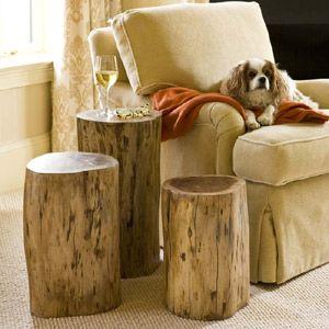 Dining Room Table Legs Shaped Like Tree Stump