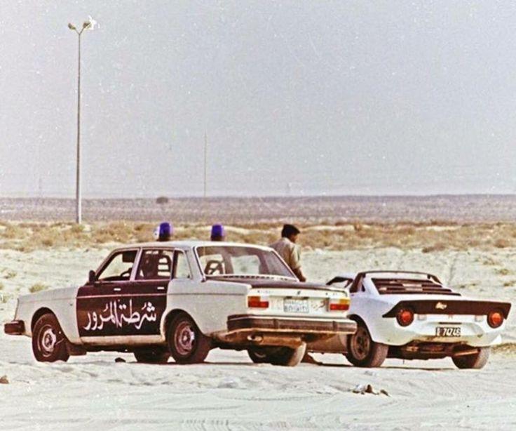 Volvo 244 Police