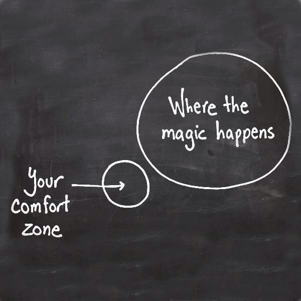 Step out of your comfort zone. INTENTION centrum voor Leiderschap & Coaching. Opleiding ICF gecertificeerd. Johan van Bavel