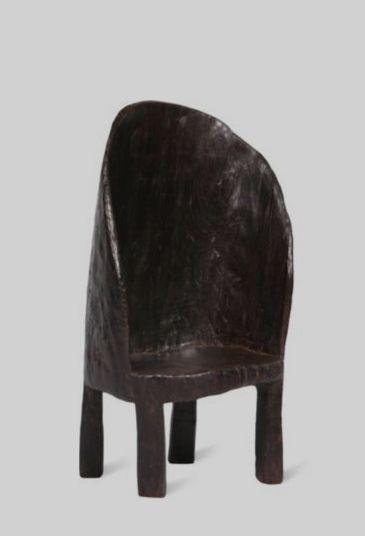 Primitive wooden chair