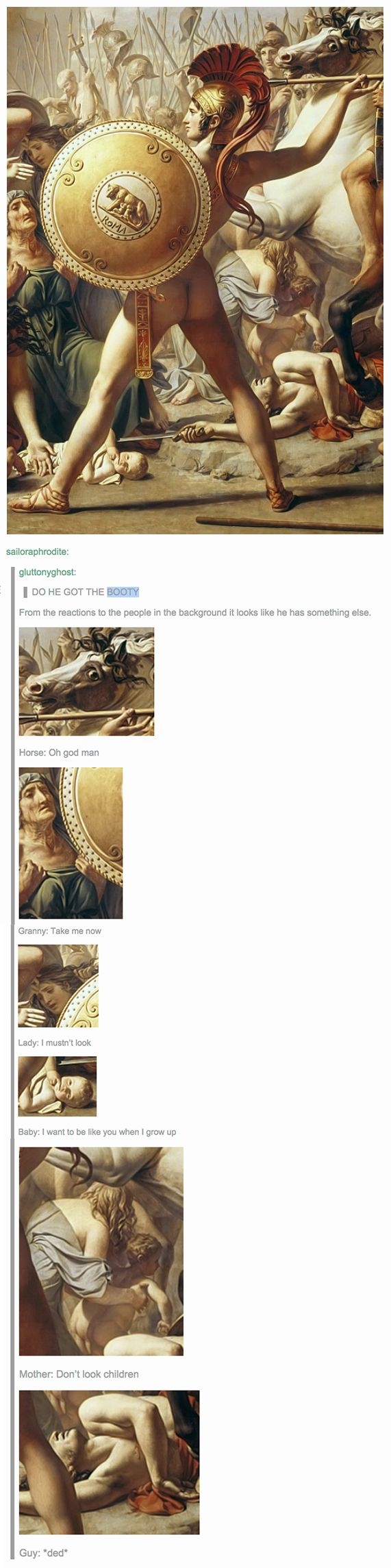 27 Times Tumblr Used Art History Perfectly To Make A Point  *uncontrollable laughter*