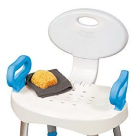 The EZ Bath and Shower Seat with Handles features a sturdy construction with a stylish contemporary look. Features large handles to make getting up and sitting down safer and easier. The seat back folds and the legs can be removed for convenient compact storage. This bath seat is also height adjustable and features drainage holes […]