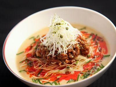 広東料理 龍天門の担々麺