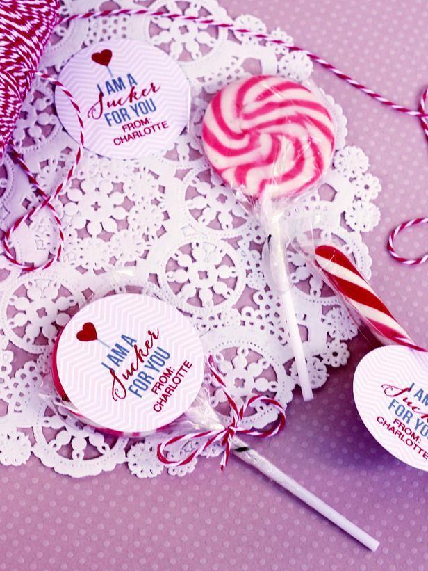 DIY Valentine Lollipops...I'm a sucker for you!