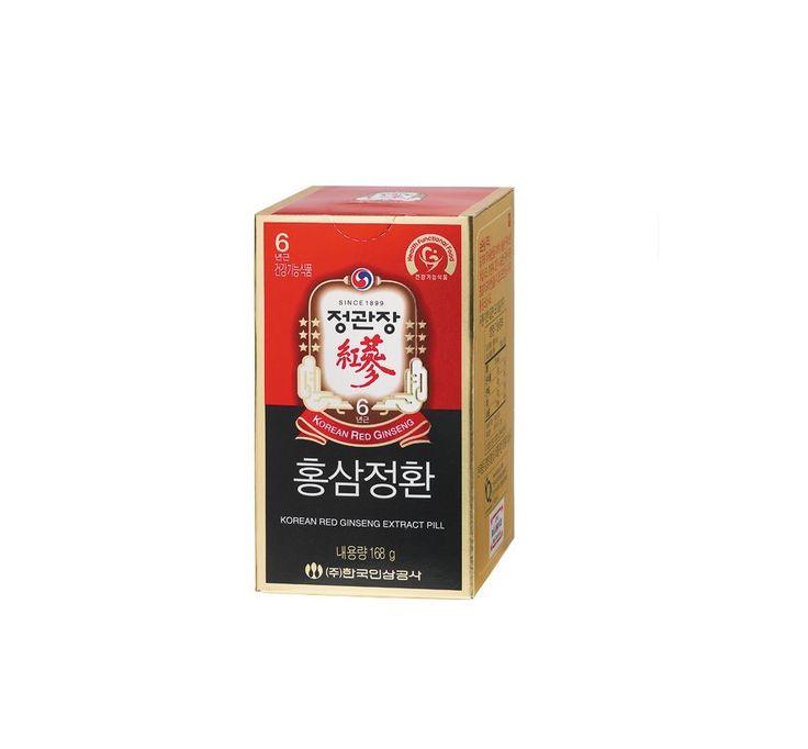 NEW CHEONG KWAN JANG Red Ginseng 6 years Hong Sam EXTRACT PILL 1Bottle 168g #CHEONGKWANJANG