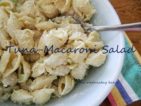 The Wednesday Baker: MACARONI SALAD WITH TUNA