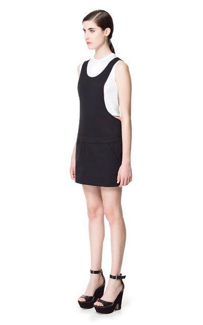 Image 1 of MINI-SKIRT JUMPSUIT from Zara