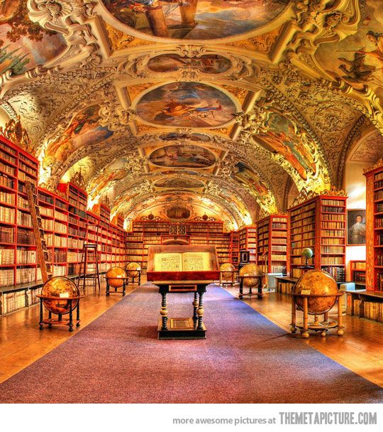 Castle Sederia has a beautiful large library, though unfortunately, Caedra doesn't get to spend a lot of time there...