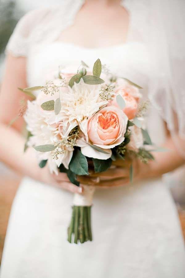 Свадебные букеты в европейском стиле фото