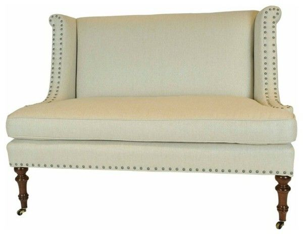 Couches and benches White leather design